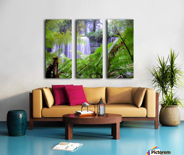 Waterfall3 Split Canvas print