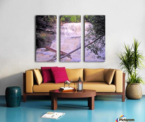 Waterfall8 Split Canvas print