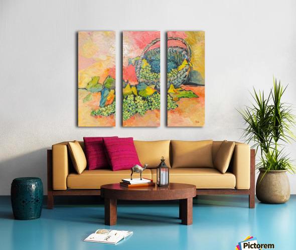 G125 Split Canvas print