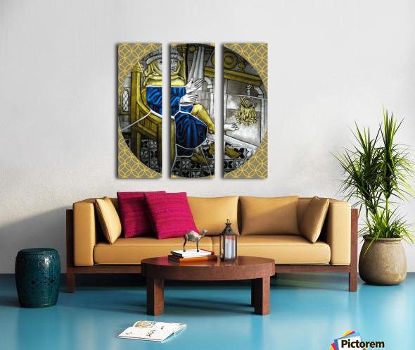 Labours of the Month 2.jpg Split Canvas print