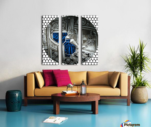 Labours of the Month 3.jpg Split Canvas print