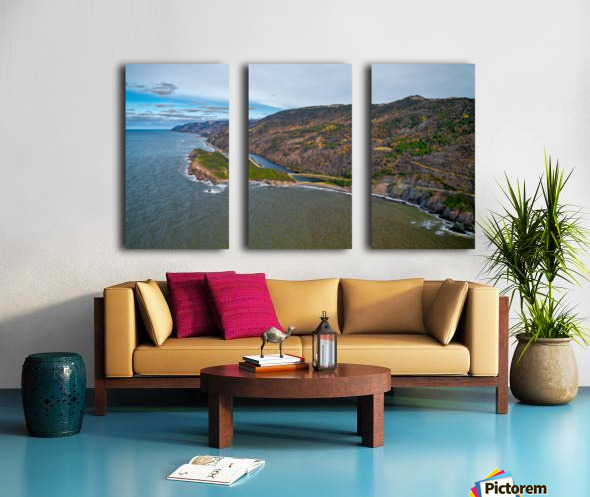 Cabot Trail Split Canvas print