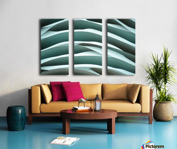 Mystic Sea III Split Canvas print