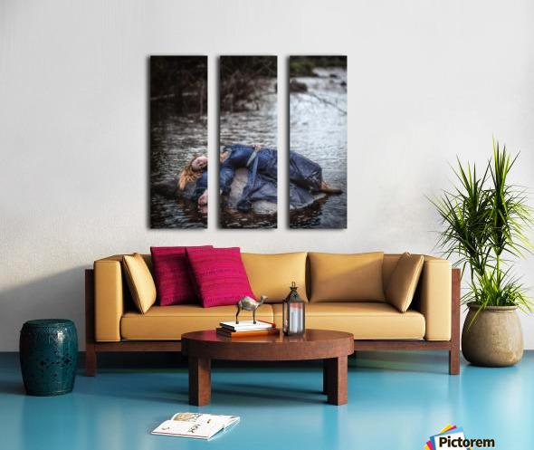 Wrecked Split Canvas print