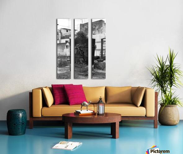 Fu Bidone Split Canvas print