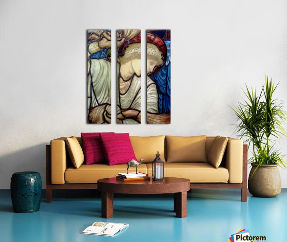 Edward Burne Jones 14 Split Canvas print