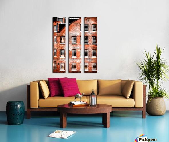 Squares Split Canvas print
