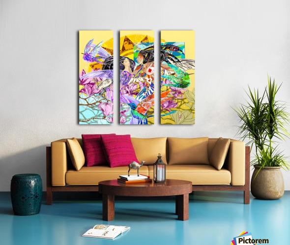 Colibri_Nanatasis_Anik_Lafreniere Split Canvas print