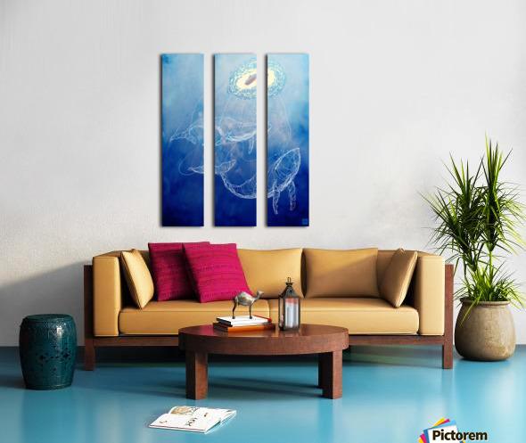 Moby Dick Split Canvas print