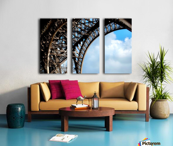 The Eiffel Tower  Split Canvas print