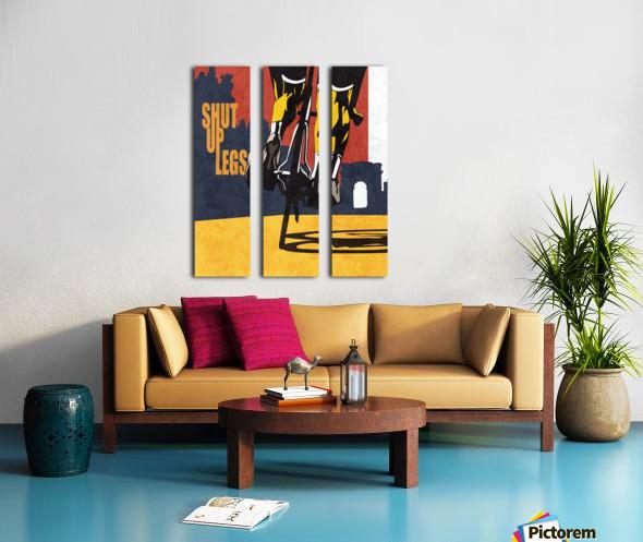 Shut Up Legs Split Canvas print