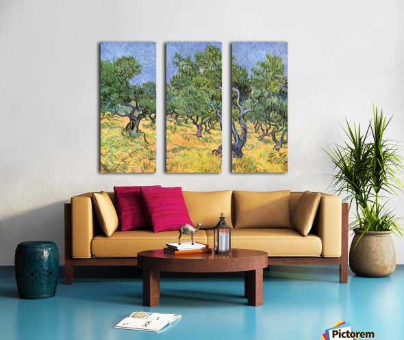 Olive Trees by Van Gogh Split Canvas print