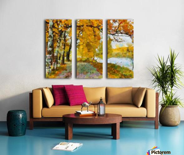 HC0274 Split Canvas print