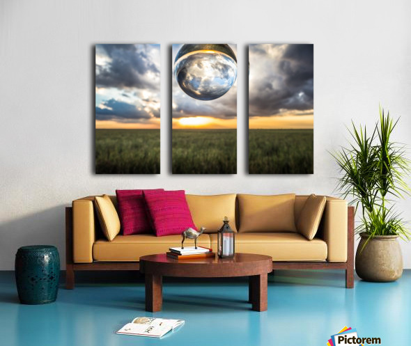 Lens Ball Split Canvas print
