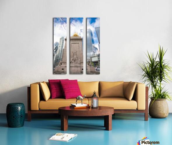 New York City Split Canvas print