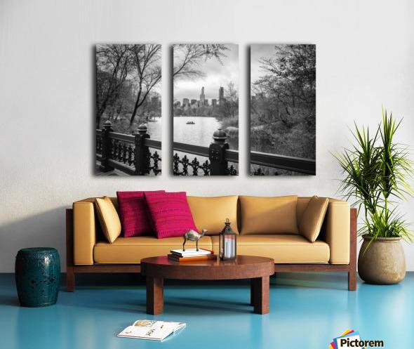 Central Park Split Canvas print