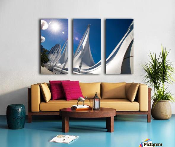 Seattle Washington Split Canvas print