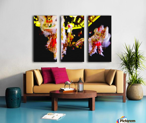 Chinese New Year Split Canvas print