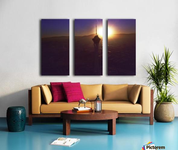 Stratosphere Split Canvas print