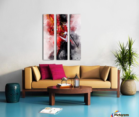 The Queens Guard Split Canvas print