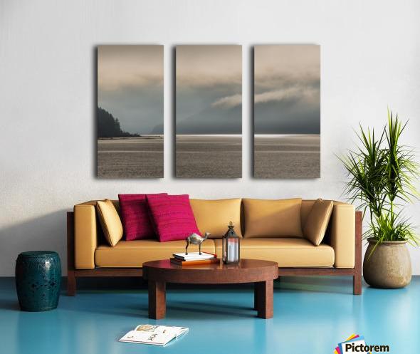 Alberni fog Split Canvas print