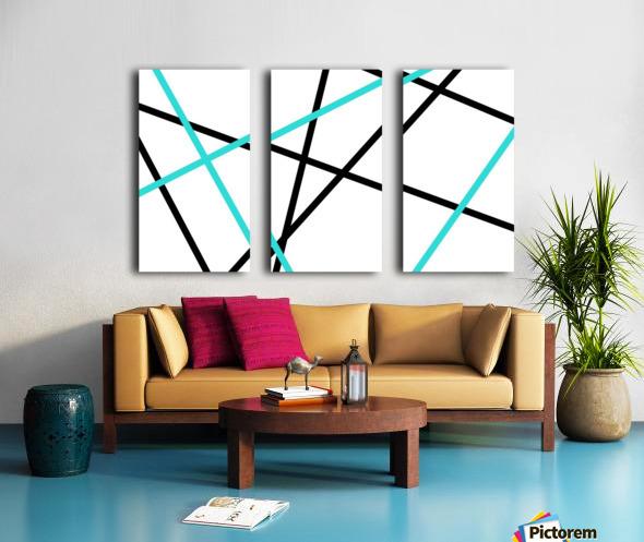 Ashley Split Canvas print