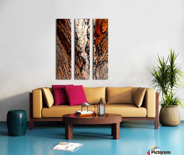 Biggs Jasper Split Canvas print