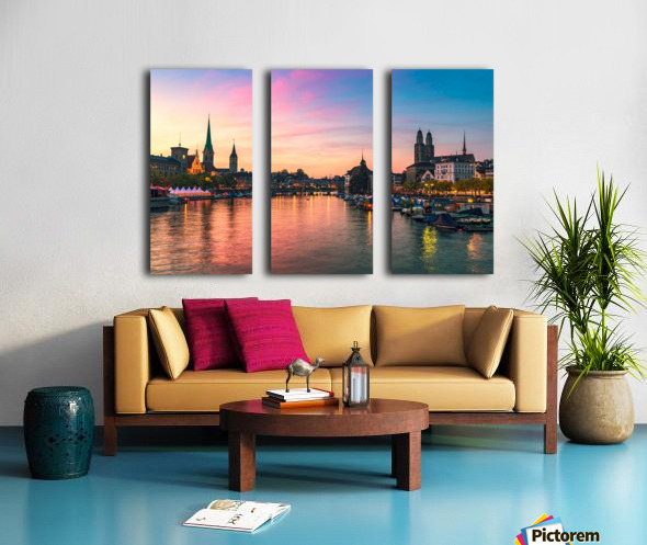 ZÜRICH 05 Split Canvas print