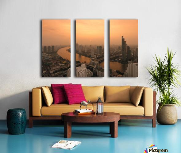 BANGKOK 01 Split Canvas print