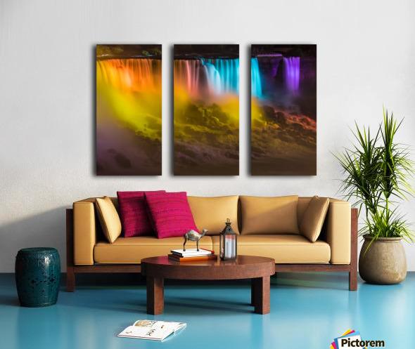 NIAGARA FALLS 10 Split Canvas print