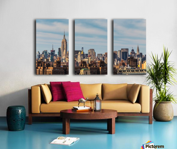 NEW YORK CITY 21 Split Canvas print