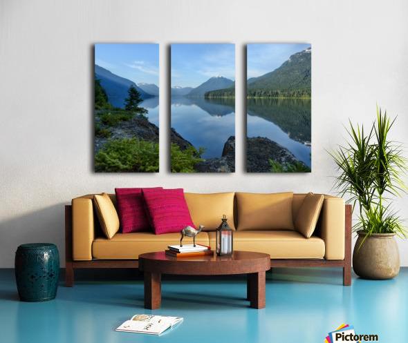 Strathcona calm Split Canvas print