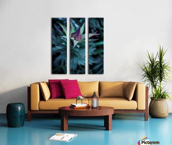Funky flora Toile Multi-Panneaux