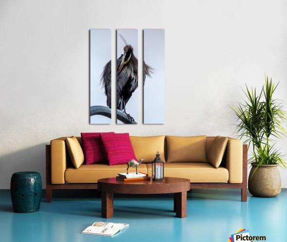 Haute couture Split Canvas print