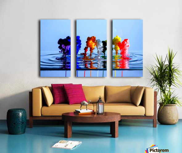 drizzles Split Canvas print