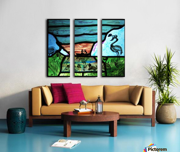 The Little Mermaid 1 Split Canvas print
