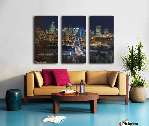 Walterdale_Jan2018_IMG_6713 Split Canvas print