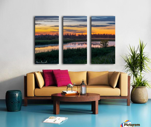 BigLake_July2018_IMG_4614_1544211480.49 Split Canvas print