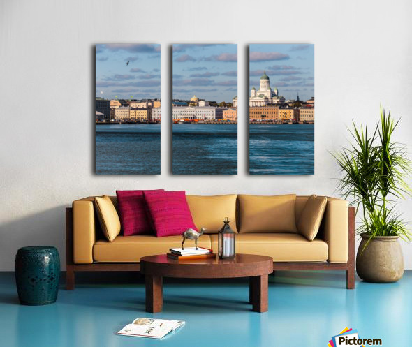 HELSINKI 01 Split Canvas print