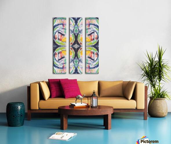 Kirstie II Split Canvas print