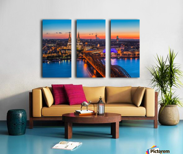 COLOGNE 03 Split Canvas print
