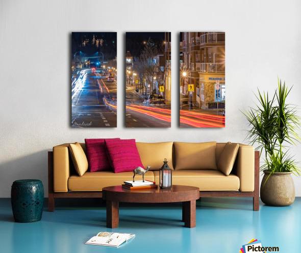 PerronSt_Trailights_DSC4885 Edit Split Canvas print