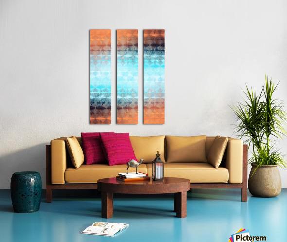Geometric Pattern Split Canvas print
