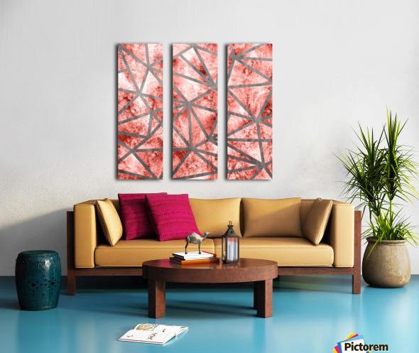 Geometric XXXV Split Canvas print