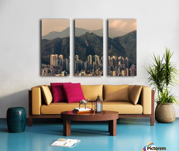 HONG KONG 06 Split Canvas print