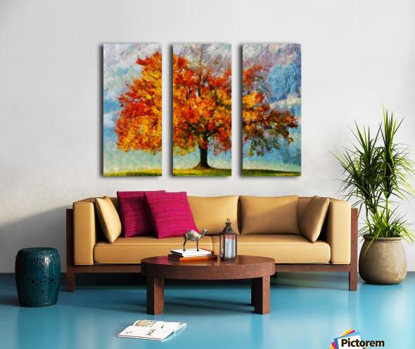 HC0310 Split Canvas print