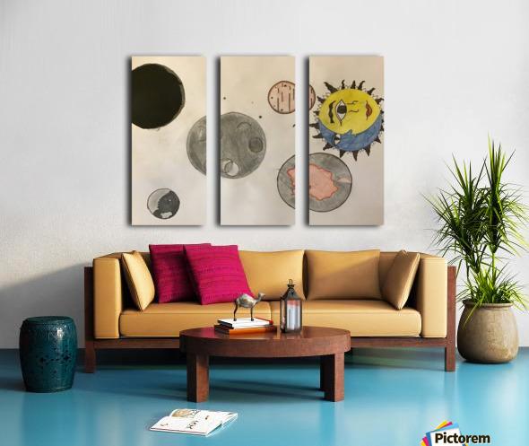 Where my Capricorn's At Split Canvas print