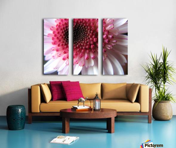Floral Delicacy Split Canvas print