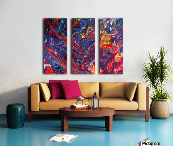 Love. Donald M Split Canvas print