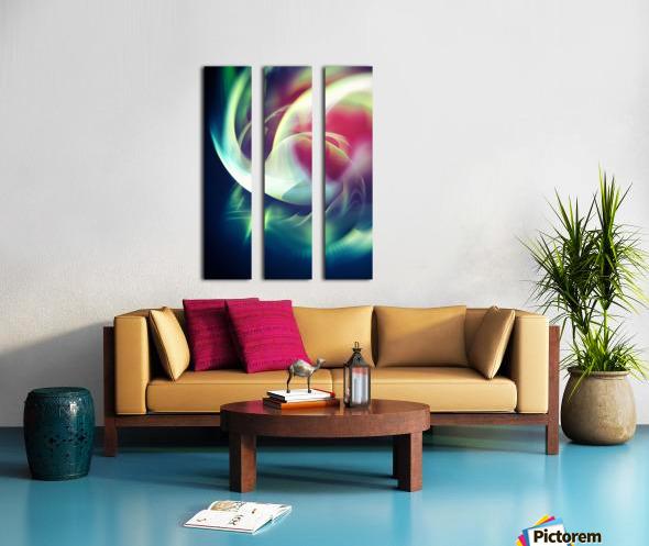 Abstract Art XIII Split Canvas print